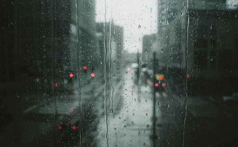 Rain from My OfficeWindow